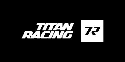 Titan Racing Logo Portrait - Red